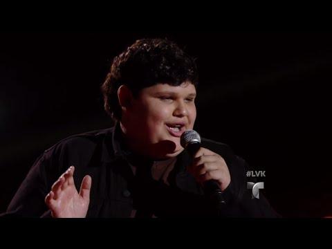 Christopher triunfa con 'Quizás, Quizás' | Audiciones | La Voz Kids 2016