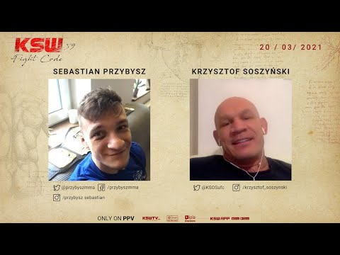 Sebastian Przybysz talks about his rematch against Antun Racic and way to KSW belt