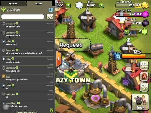 Clash of clans, my beloved base kik me to enter second account give away