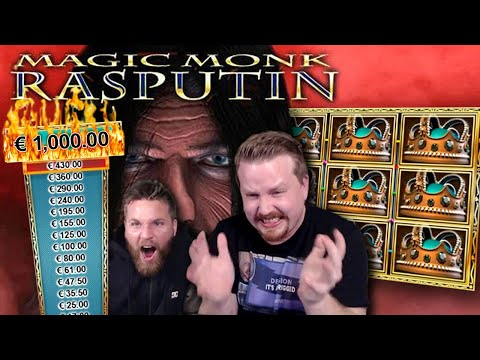 FINALLY!! Big Win On Rasputin