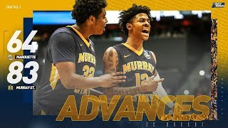 Watch Murray State, Ja Morant roll past Marquette in first round of NCAA tournament
