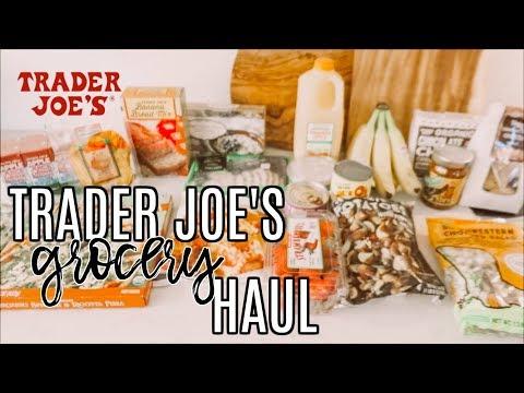 TRADER JOE'S GROCERY HAUL | Single Mom on a Budget!