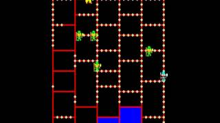 Amidar MAME Gameplay video Snapshot -Rom name amidar-