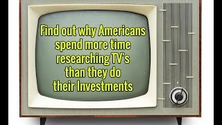Americans Spend More Time Researching TV