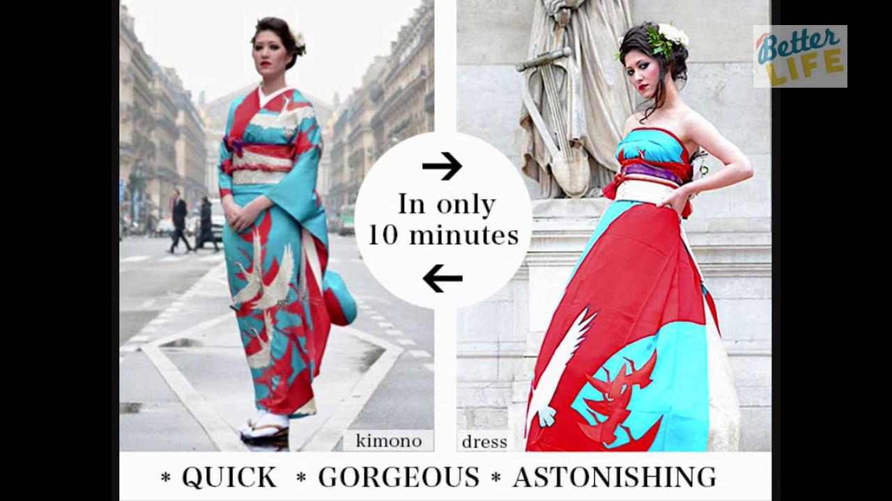 Japanese Company Turns Beautiful Kimonos Into One Of A Kind Wedding ...