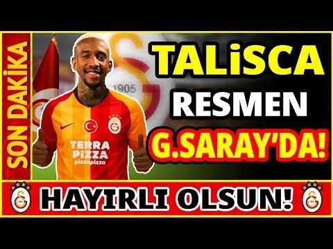 TALİSCA RESMEN GALATASARAY'DA!! YILIN TRANSFER BOMBASI!!