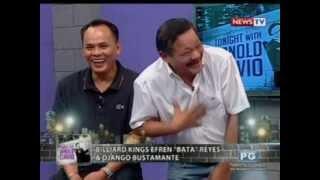 Tonight with Arnold Clavio: Kuwentuhan kasama sina Efren 'Bata' Reyes at Django Bustamante
