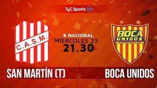 San Martin de Tucuman vs Boca Unidos full match