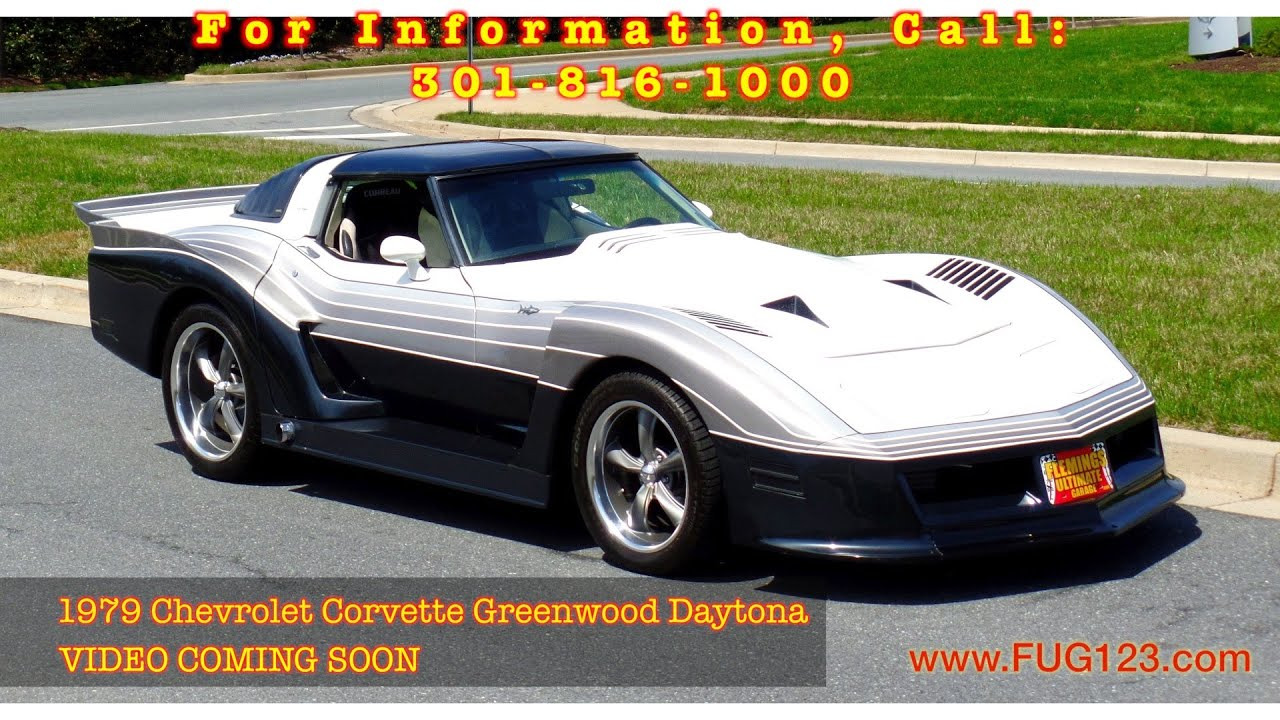 ING SOON 1979 Chevrolet Corvette Greenwood Daytona FOR SALE