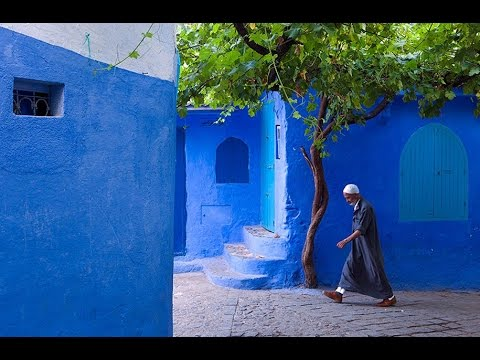 The Blue City - Chefchaouen - feat. 'Moroccan Dance' by Rumi Ged - 1080p