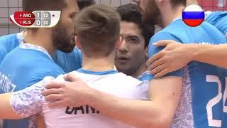 Волейбол. Аргентина - Россия. 2 период. Кубок мира 2019. Мужчины