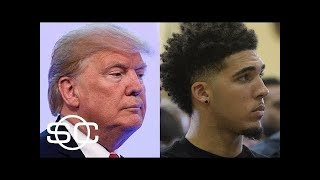 Donald Trump wants Thanks from Liangelo Ball UCLA Shoplifters freed by China