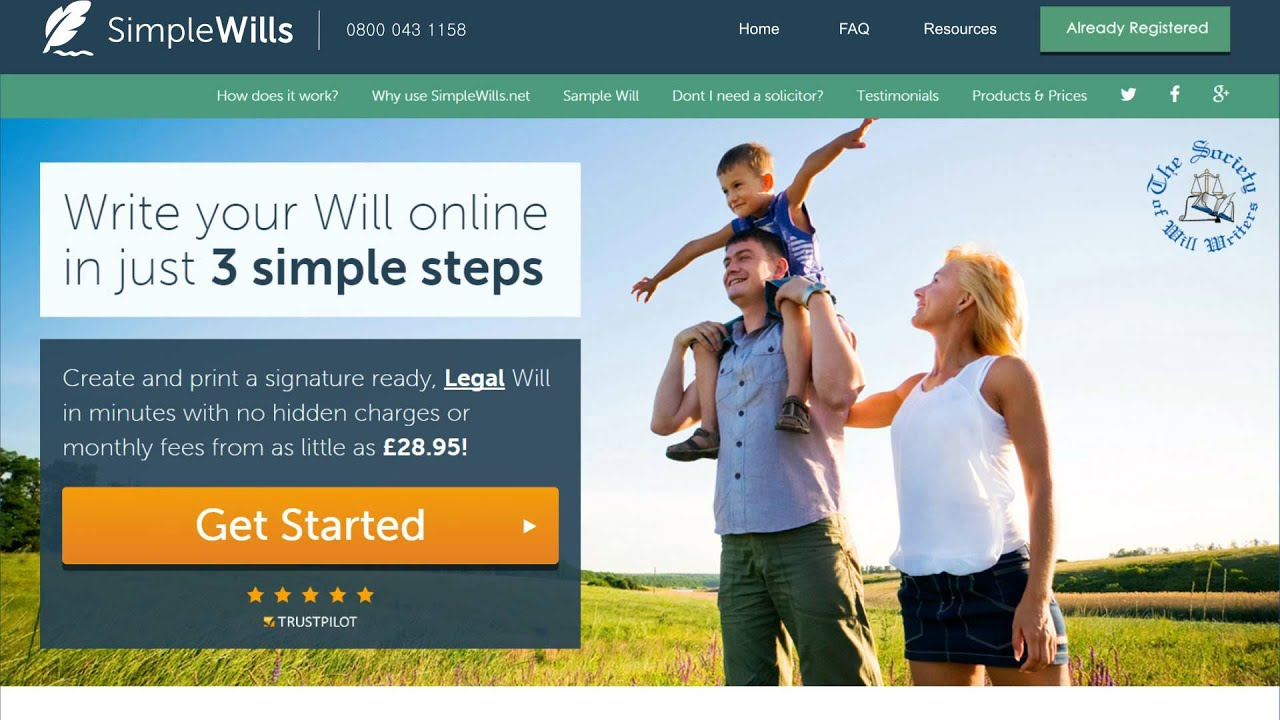Online software and ready-made forms make creating your own will a snap