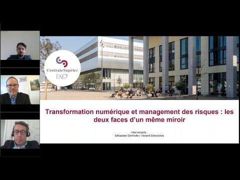 Transformation numérique et management des risques : les deux faces dun même miroir