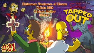 The Simpsons: Tapped Out [395] Halloween Treehouse of Horror Update (2018) Pt 21 {Update Review}