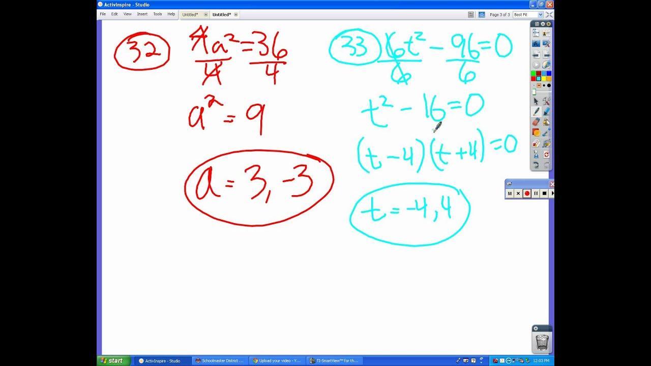 Algebra Worksheet 9 6 Answers Avi
