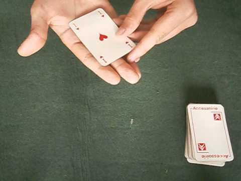 tour de magie carte qui vole explication