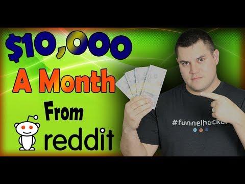 Make $10,000 Per Month On Reddit [3 Simple Steps]