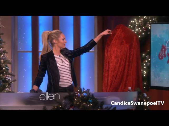 Candice Swanepoel The Ellen DeGeneres Show HD 3D Victoria's Secret