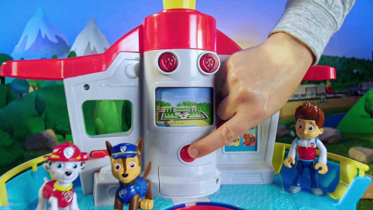 PAW Patrol | My Size Lookout Tower with Marshall and Chase! (2017)