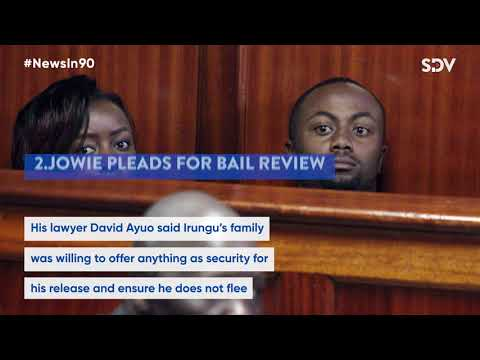 Referendum looming, Jowie pleads for freedom, Kakamega murder suspects arrested |#NewsIn90