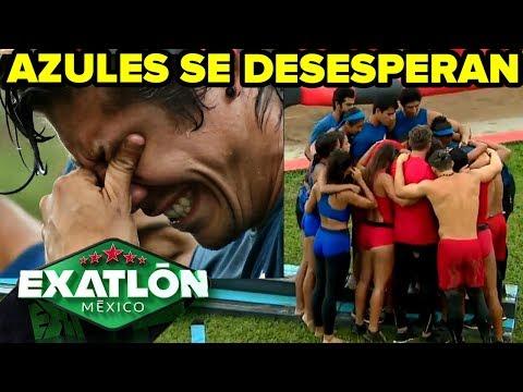 Exatlón México 2   El Equipo Azul se desespera   Capítulo 66