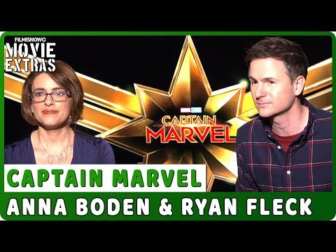CAPTAIN MARVEL   Anna Boden & Ryan Fleck Talk About The Movie - Official Interview