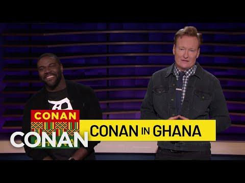 Conan Announces His Trip To Ghana With Sam Richardson - CONAN on TBS