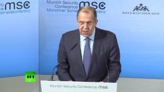 Выступление Сергея Лаврова на Мюнхенской конференции по вопросам безопасности