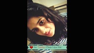 Dil ne tumko chun liya hai..-  Cover by Trapti Sharma