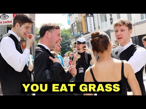 3 CHRISTIAN GUYS MOCK VEGAN WOMAN