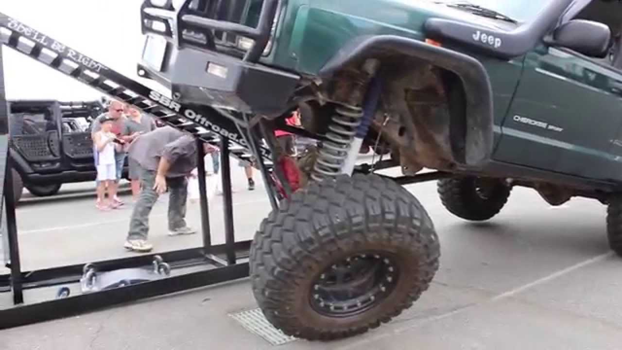 Jeep Cherokee Xj Long Arm Rti Ramp Youtube