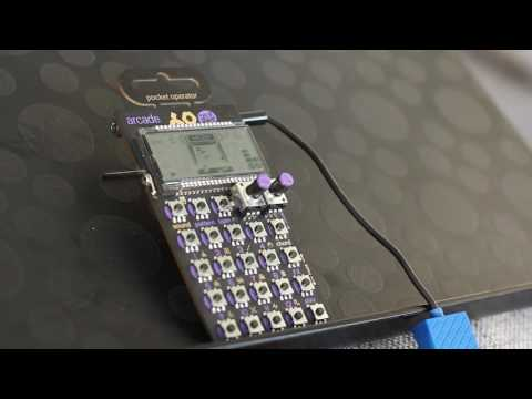 First song on the Pocket Operator PO-20 Arcade by Teenage Engineering