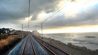 Rail View TR Tren de Valencia a Barcelona 2014