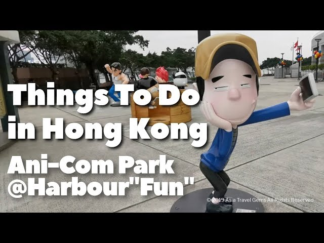 Things To Do In Hong Kong - Ani-Com Park@Harbour