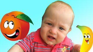 Учим Фрукты   Развивающее видео для детей малышей