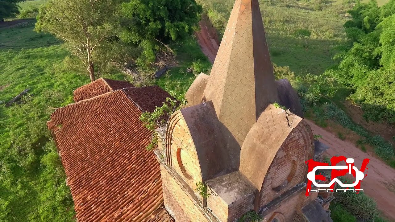 FPV - Entrei com Drone e Tudo,nas Ruínas da Igreja dos Ingleses em Gália -SP фото