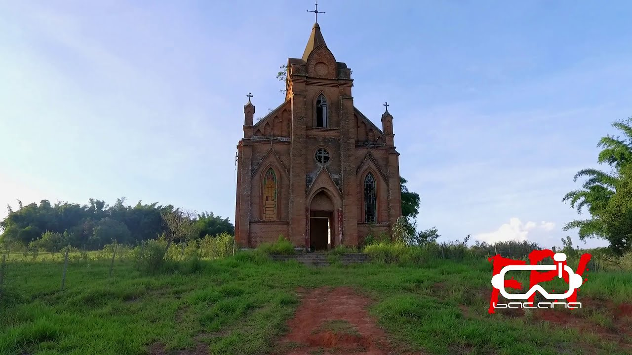 FPV - Entrei com Drone e Tudo,nas Ruínas da Igreja dos Ingleses em Gália -SP фотки