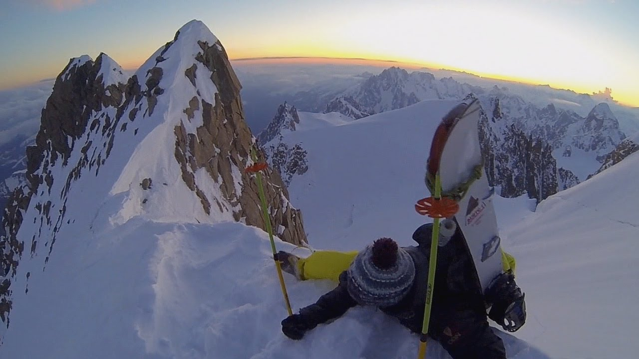 So Not Freaking Extreme Snowboarding on Mont Blanc - So Freaking Extreme Ep. 4