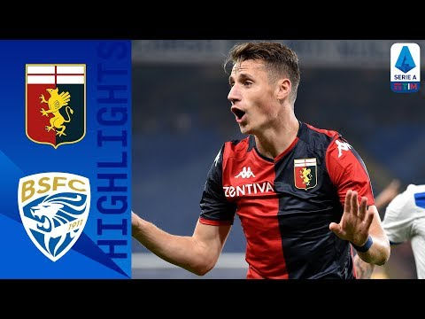 Highlight Genoa vs Brescia | Debut Perdana Pelatih Eks Inter yang Bagus