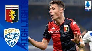 Genoa 3 1 Brescia | 3 Goals In 15 Second Half Minutes Hand Thiago Motta First Genoa Win | Serie A