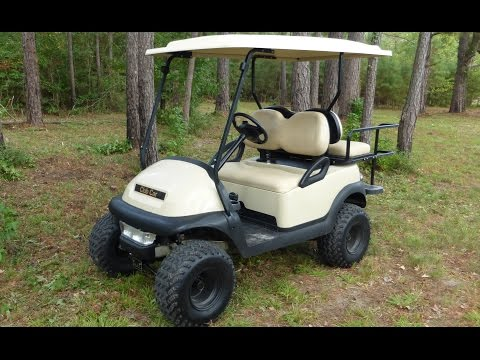 Golf Cart review & tour of the farm.