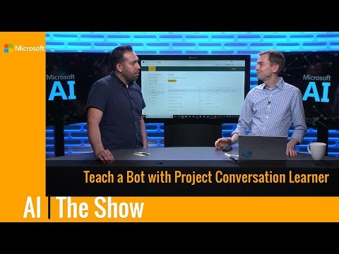 Teach a Bot with Project Conversation Learner