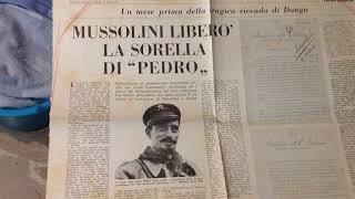 Mussolini libera sorella di Pedro