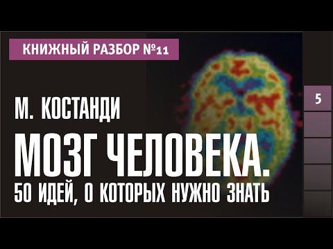 """Книжный разбор 11 - """"Мозг человека. 50 идей, о которых нужно знать"""" (Мохеб Костанди)"""