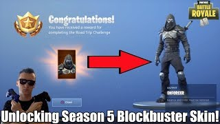 Unlocking the Season 5 Blockbuster Skin! | Solo, Duo, Squads, and More (Fortnite Battle Royale)