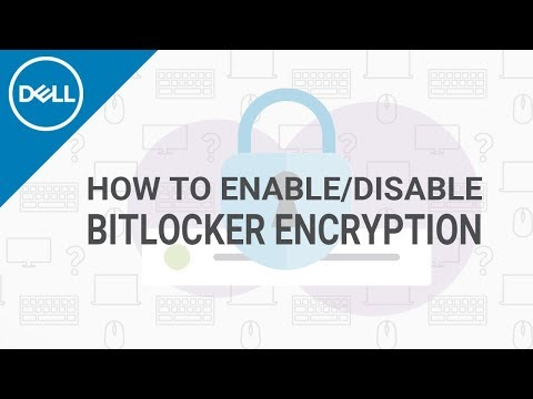 How To Enable BitLocker Windows (Official Dell Tech Support)