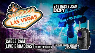 Reelbros Cable Cam BTS Live in Las Vegas | Defy Dactylcam & EX250 Camera Head | Reelbros TV