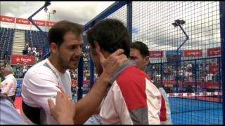 Tangana en la final del World Padel Tour de Barcelona