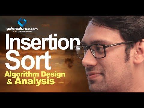 Insertion Sort - Algorithm Design & Analysis